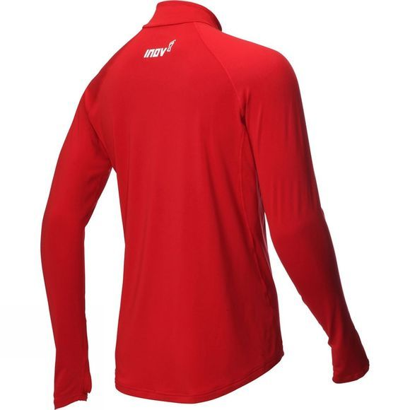 Inov-8 Mens At/C Mid Layer Long Sleeve Hz Dark Red