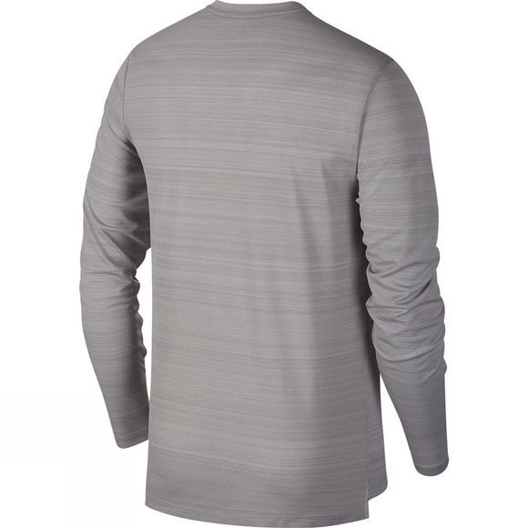 Nike Men's Dry Miler Long Sleeve Top Atmosphere grey