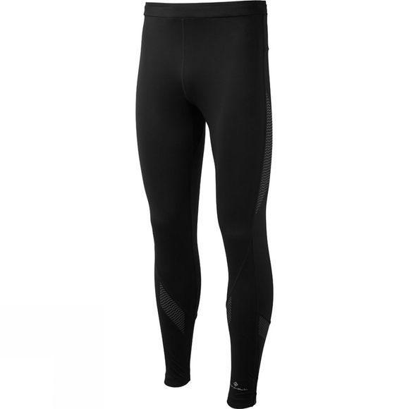 Ronhill Mens Infinity Nightfall Tights Black/Reflect