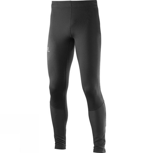 Salomon Mens Agile Long Running Tights Black