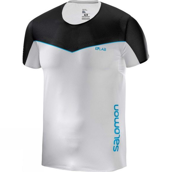 Salomon Mens S-Lab Sense Tee White/Black
