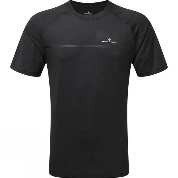 Ronhill Mens Everyday Short Sleeve Tee CHARCOAL MARL