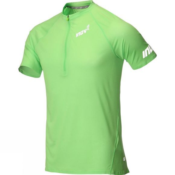 Inov-8 Mens At/C Base Layer Short Sleeve Hz Green