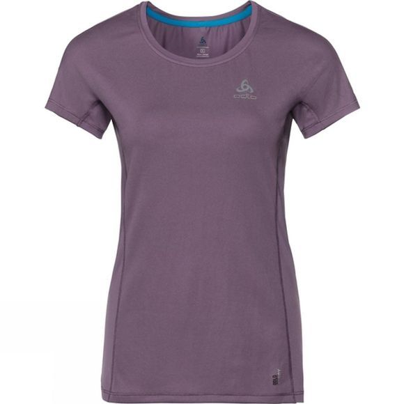 Odlo Womens Top Crew Neck Omnius Light Dark Purple