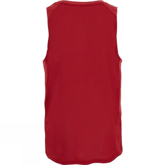 The North Face Mens Ambition Tank Cardinal Red Heather/Cardinal Red