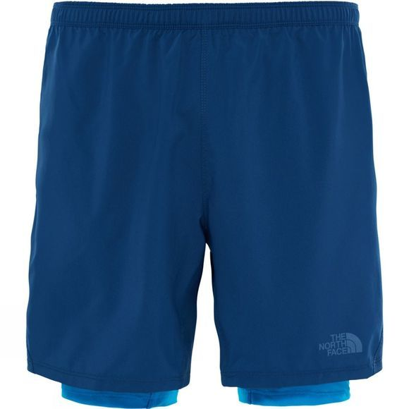The North Face Mens NSR Dual Short Shady Blue/Hyper Blue