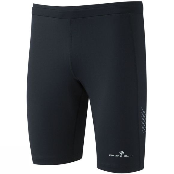 Ronhill Mens Stride Stretch Shorts All Black