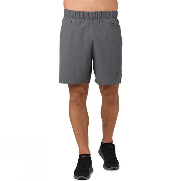 Asics Mens 2in1 7in Shorts Dark Grey Heather
