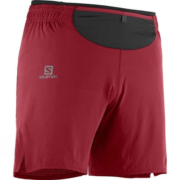 Salomon Mens Sense Pro Short Biking Red