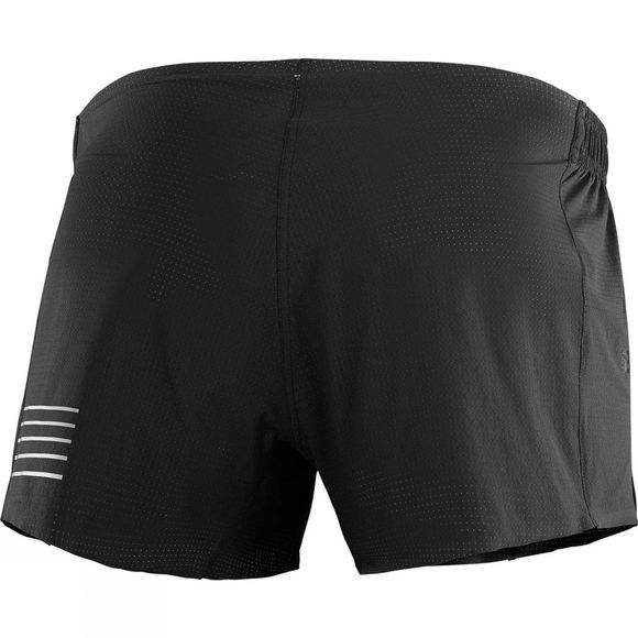 Salomon Mens  S/Lab Short 4 Black