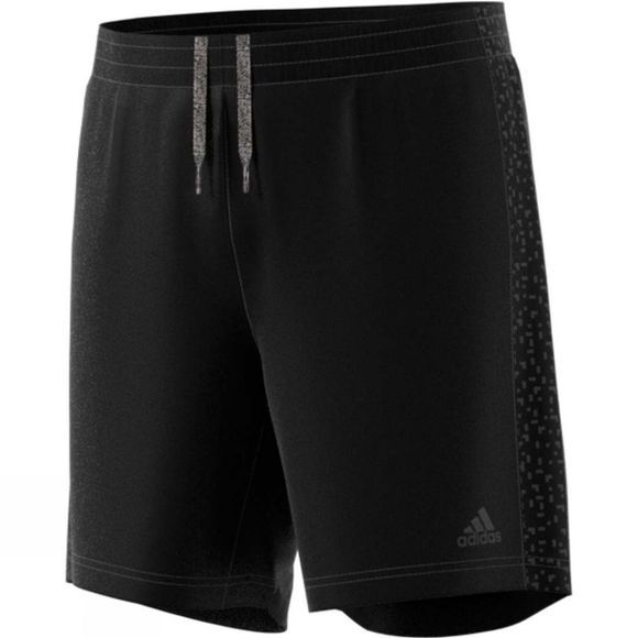 "Adidas Mens Supernova Short 5"" Black"