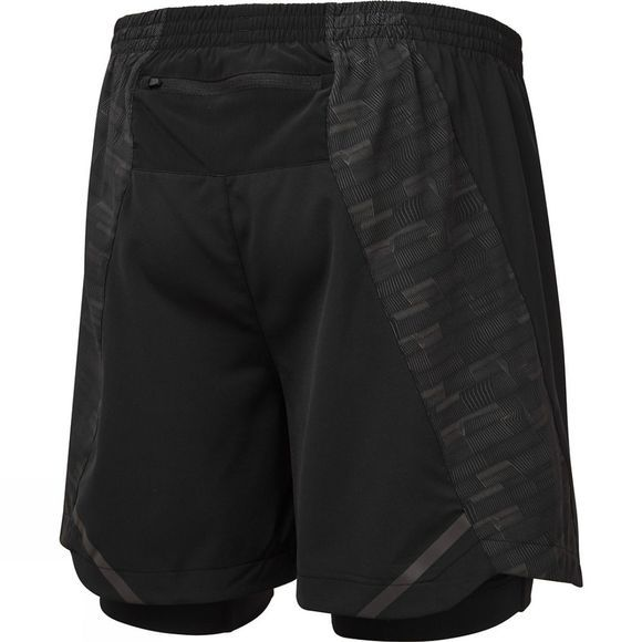 Ronhill Mens Momentum Afterlight Twim Short Black/Reflect