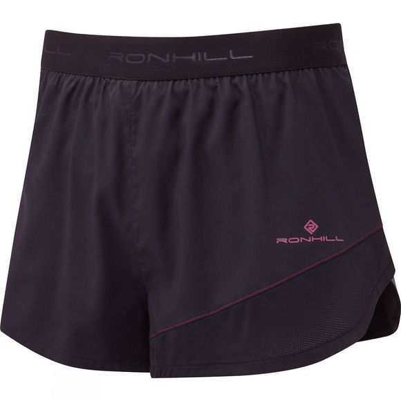 Ronhill Stride Revive Racer Short Black/Mulberry