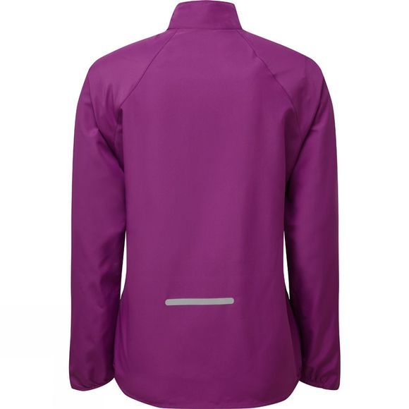 Ronhill Womens Everyday Jacket Grape Juice/Hot Coral