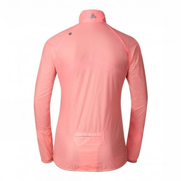 Odlo  Womens LTTL Running Jacket Fleur De Lotus