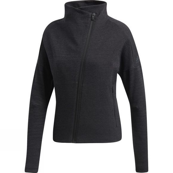 Adidas Womens Heartracer Jacket Black/Grey