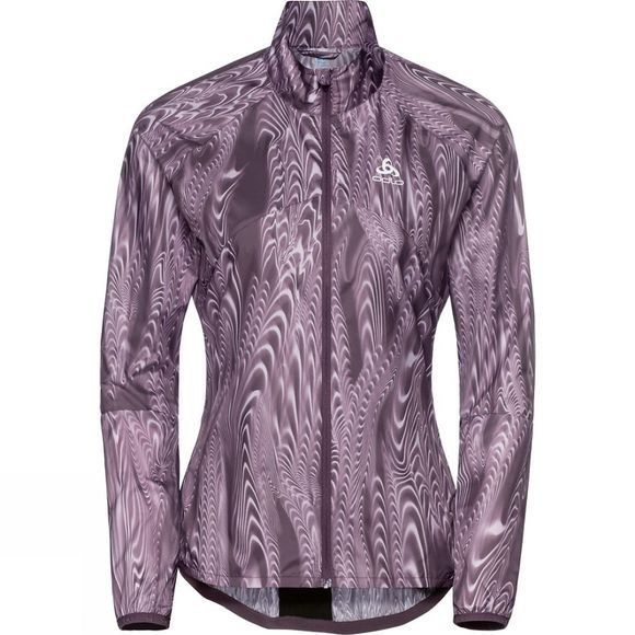 Odlo Womens Omnius Light Jacket Vintage Violet