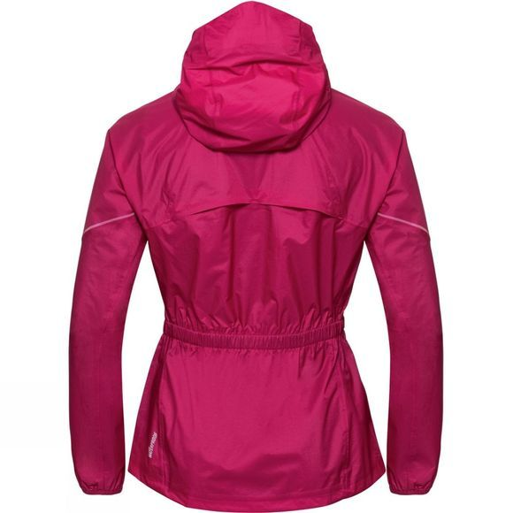 Odlo Womens Zeroweight Rain Warm Jacket Cerise