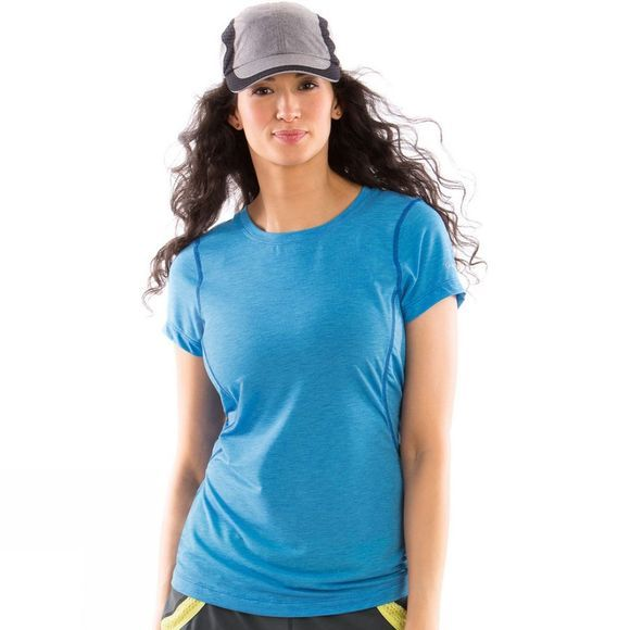 Moving Comfort Womens Endurance Tee Lt Blue