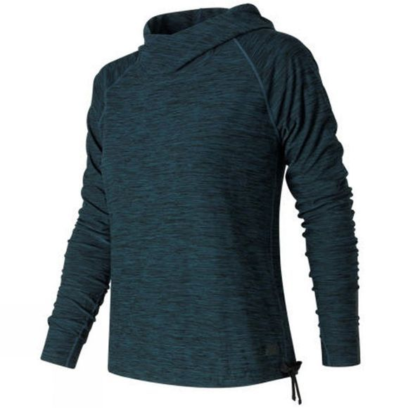 New Balance Womens In Transit Pullover Tornado Heather