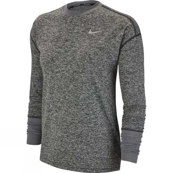 Nike Women's Crew Top  Black Heather
