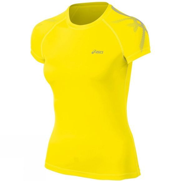 Asics Womens Tiger Top Yellow