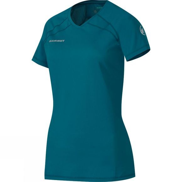 Mammut Womens MTR 71 T-Shirt White/Dark Pacific
