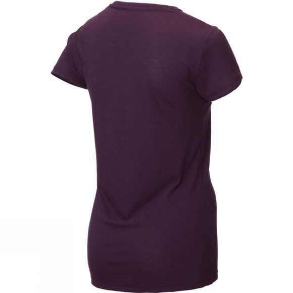 Inov-8 Womens At/C Tri Blend Short Sleeve T-Shirt Purple