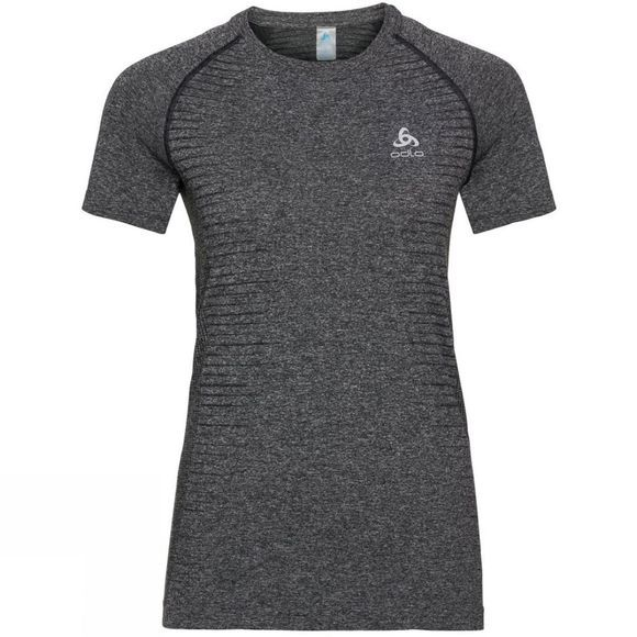 Odlo Womens Seamless Element T-Shirt Grey Melange