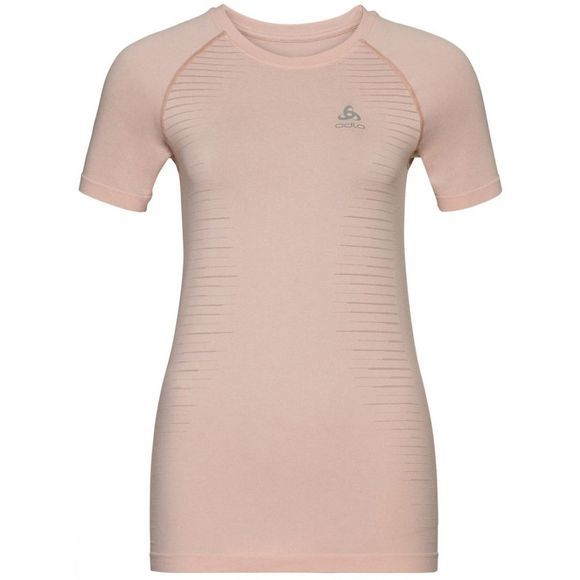 Odlo Womens Seamless Element T-Shirt Sepia Rose Melange