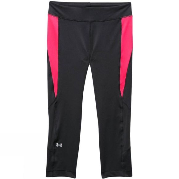 Womens HeatGear Armour Crop Leggings