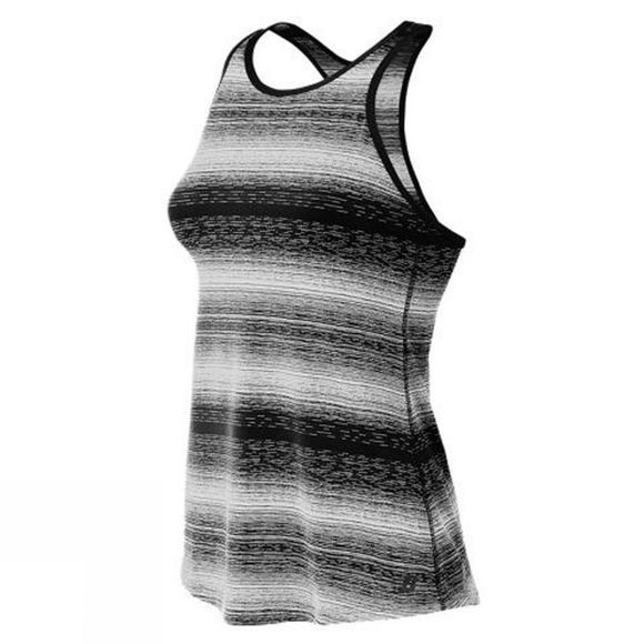 New Balance Womens Layer Tank BLACK/WHITE
