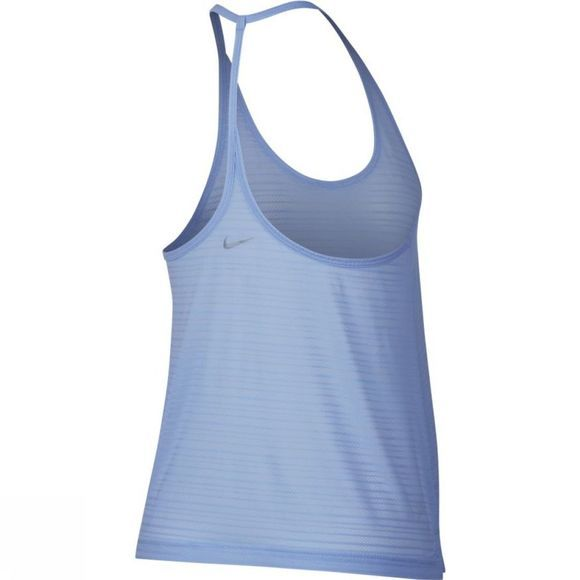 Nike Womens Miler Strappy Tank Royal Tint Heather