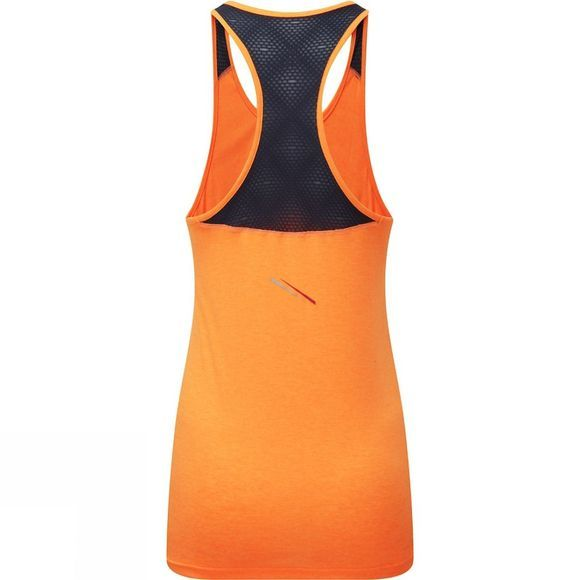 Ronhill Womens Stride Racer Vest Neon Peach/Charcoal