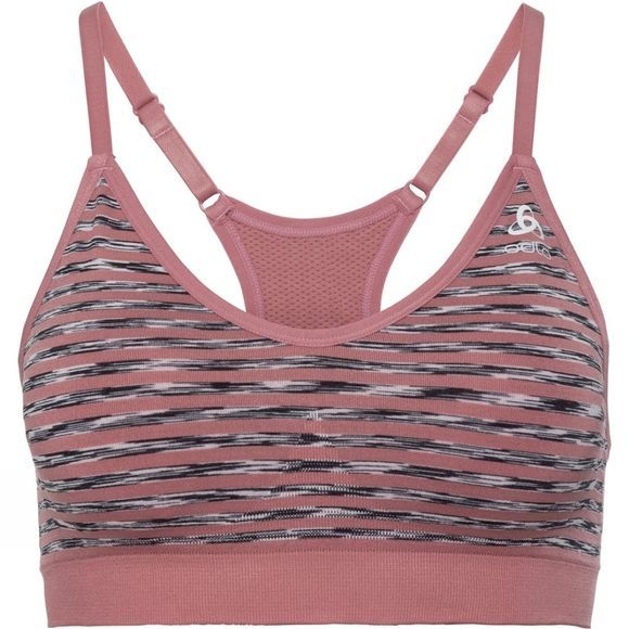 Odlo Padded Seamless Soft Sports Bra Mesa Rose
