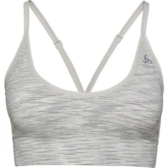 Odlo Padded Seamless Soft 2.0 Sports Bra Light Grey Melange