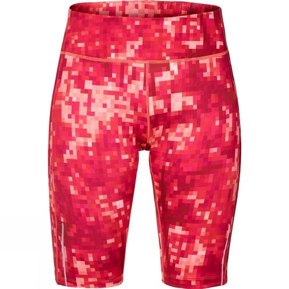 Jack Wolfskin Womens Forest Leaf Tight Hot Coral All Over