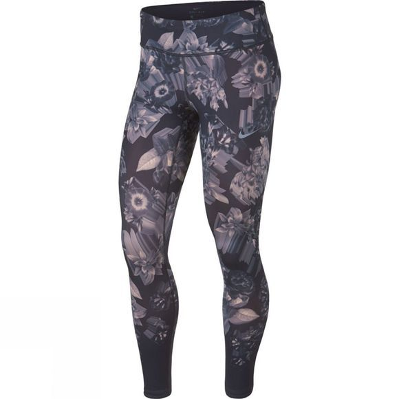 Nike Women's Epic Lux Tights Print  Gridiron/Storm Pink