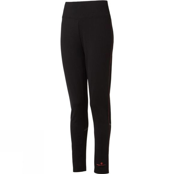 Ronhill Womens Everyday Slim Pant  Black/Hot Pink