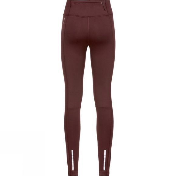 Odlo Womens Millennium Yakwarm Tights  Decadent Chocolate