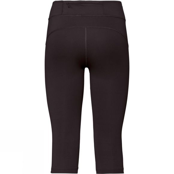 Odlo Womens Smooth Soft 3/4 Tights Black