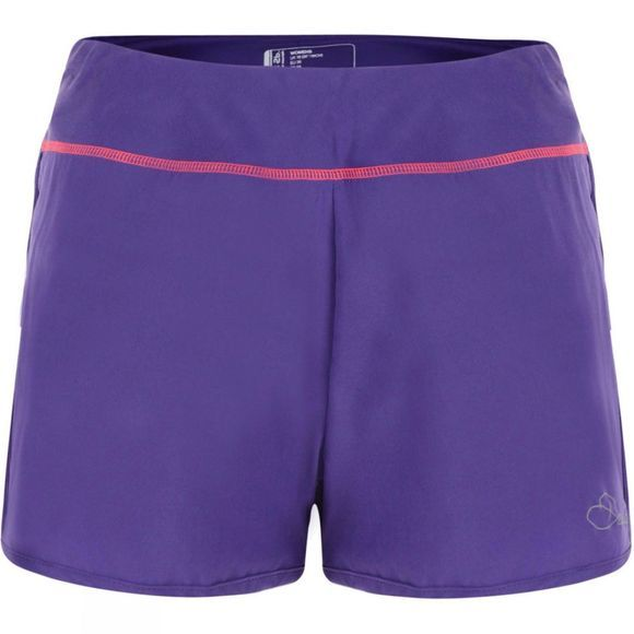 Dare 2 b Womens Succession Shorts Royal Purple