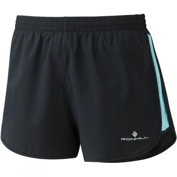 Ronhill Womens Momentum Glide Shorts Black/Surf