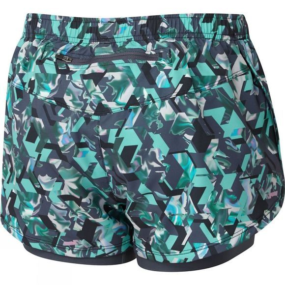 Ronhill Womens Momentum Twin Shorts PEACOCK HEX