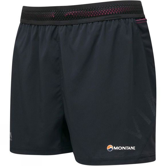 Montane Womens Snap Shorts Black