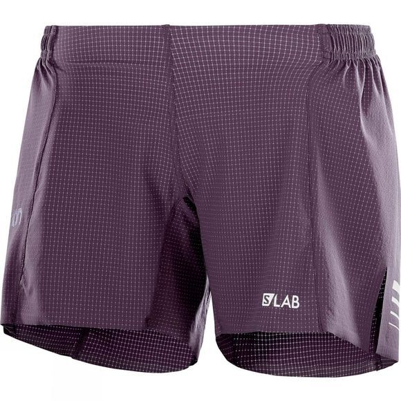 Salomon Womens S-Lab Short 6 Shorts Maverick