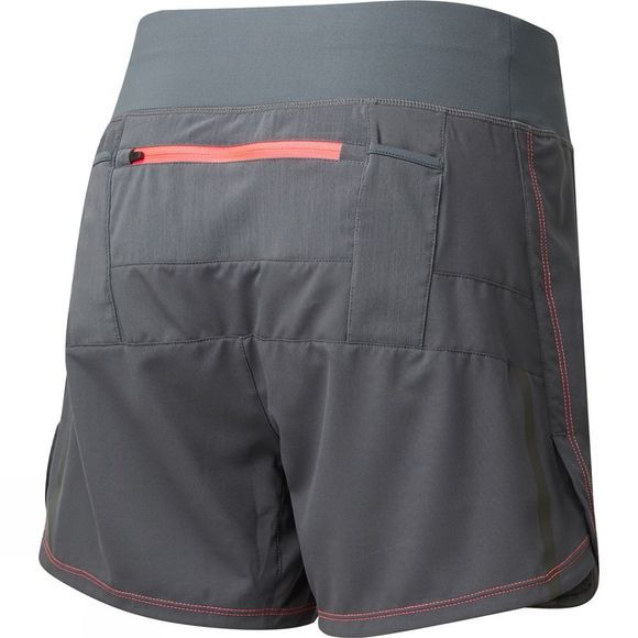 Ronhill Womens Stride Cargo Short Charcoal/Hot Pink