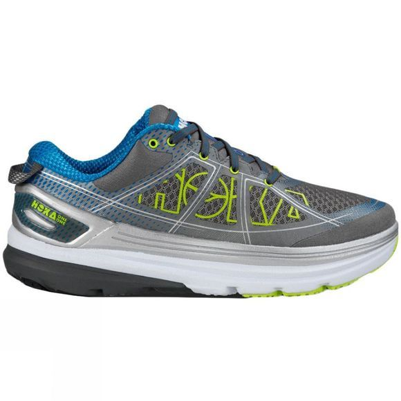 Hoka One One Mens Constant 2 Shoe  GREY/DIRECTOIRE BLUE