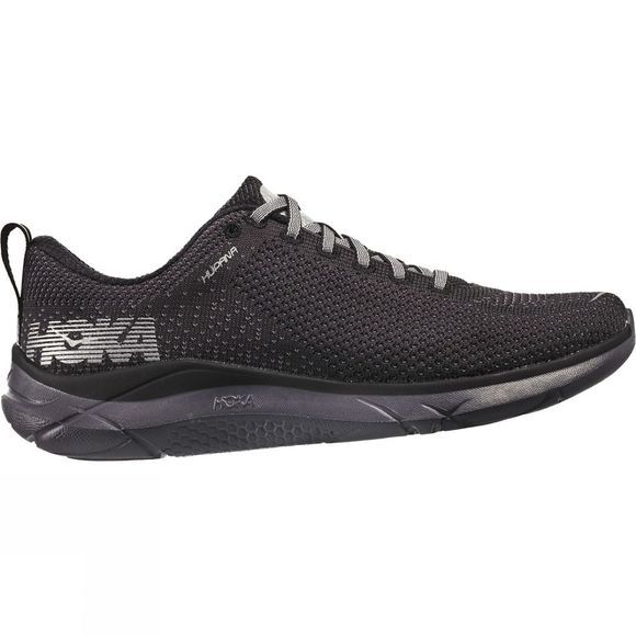 Hoka One One Mens Hupana Shoe Black/Blackened Pearl