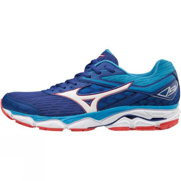 Mizuno Mens Wave Ultima 9 Shoe Surf Web/White/Aquarius